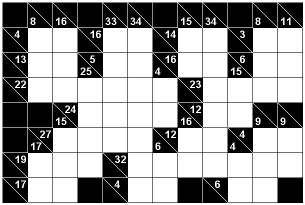 Number Logic Puzzles: 23997 - Kakuro size 3