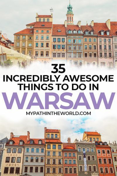 Traveling to the city of Warsaw, Poland? Wondering what to do in Warsaw? Here are the best things to do in Warsaw including must see beautiful places, what to eat and other travel tips.