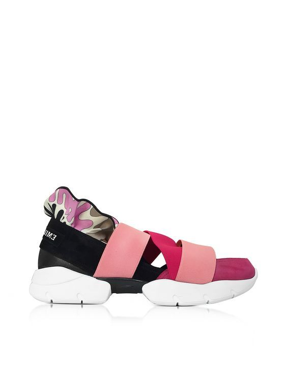 18ffdf929c90 4 25 17 Emilio Pucci suede sneakers. Made in Italy.   I don t run ...