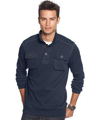 Marc New York Sweater, Mock Neck Sweater - Mens Sweaters - Macy's