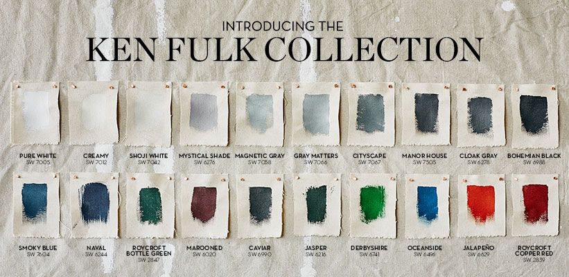 kenfulkpaint colors have a story to them he says when you