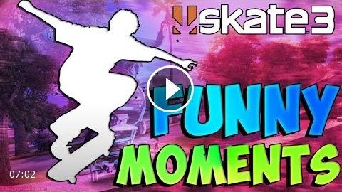 SKATE 3 Funny Moments #2 Epic Races and More Deer Tags