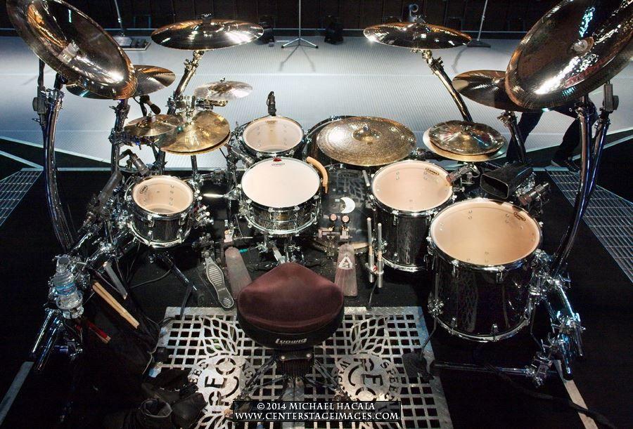 Bryan Hitt / REO Speedwagon kit   Drum Kit Favorites