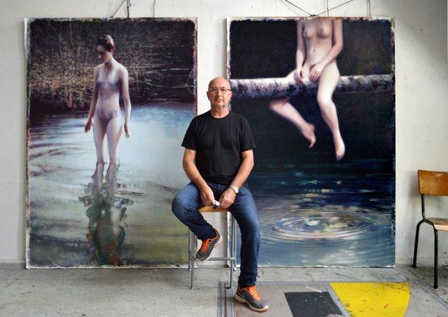 Go inside the studio of Wladimir Moszowski: http://magazine.saatchiart.com/articles/artnews/saatchi-art-news/inside-the-studio-saatchi-art-news/wladimir-moszowksi