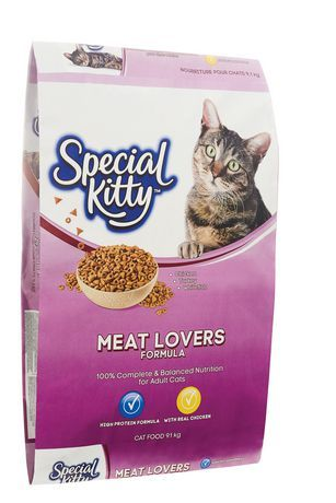 Special Kitty Meat Lovers Dry Cat Food 9 1kg Dry Cat Food Meat