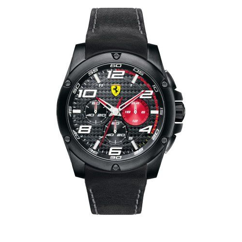 montre homme ferrari 830030 couleur du bracelet noir type de bracelet cuir fermeture boucle. Black Bedroom Furniture Sets. Home Design Ideas
