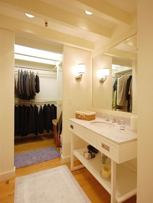 Pin By Elaine C On Closets In Bathrooms With Images Bathroom