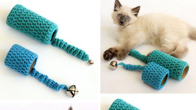 10 diy pour les chats crochet tricot pinterest cat. Black Bedroom Furniture Sets. Home Design Ideas