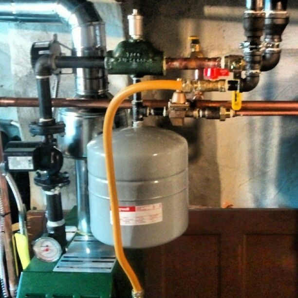 Hvac Boiler Hydronic Heat Plumbing Piping Picoftheday Are