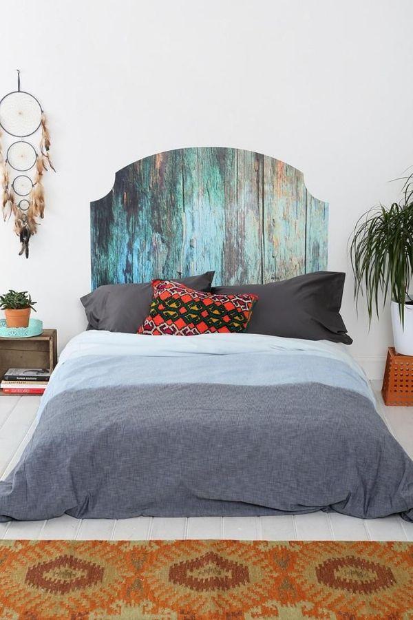 ... DIY Kopfteil Für Das Bett \u2013 Ideen Für Spannende Wanddekore #ideen    Kopfteil Fur ...