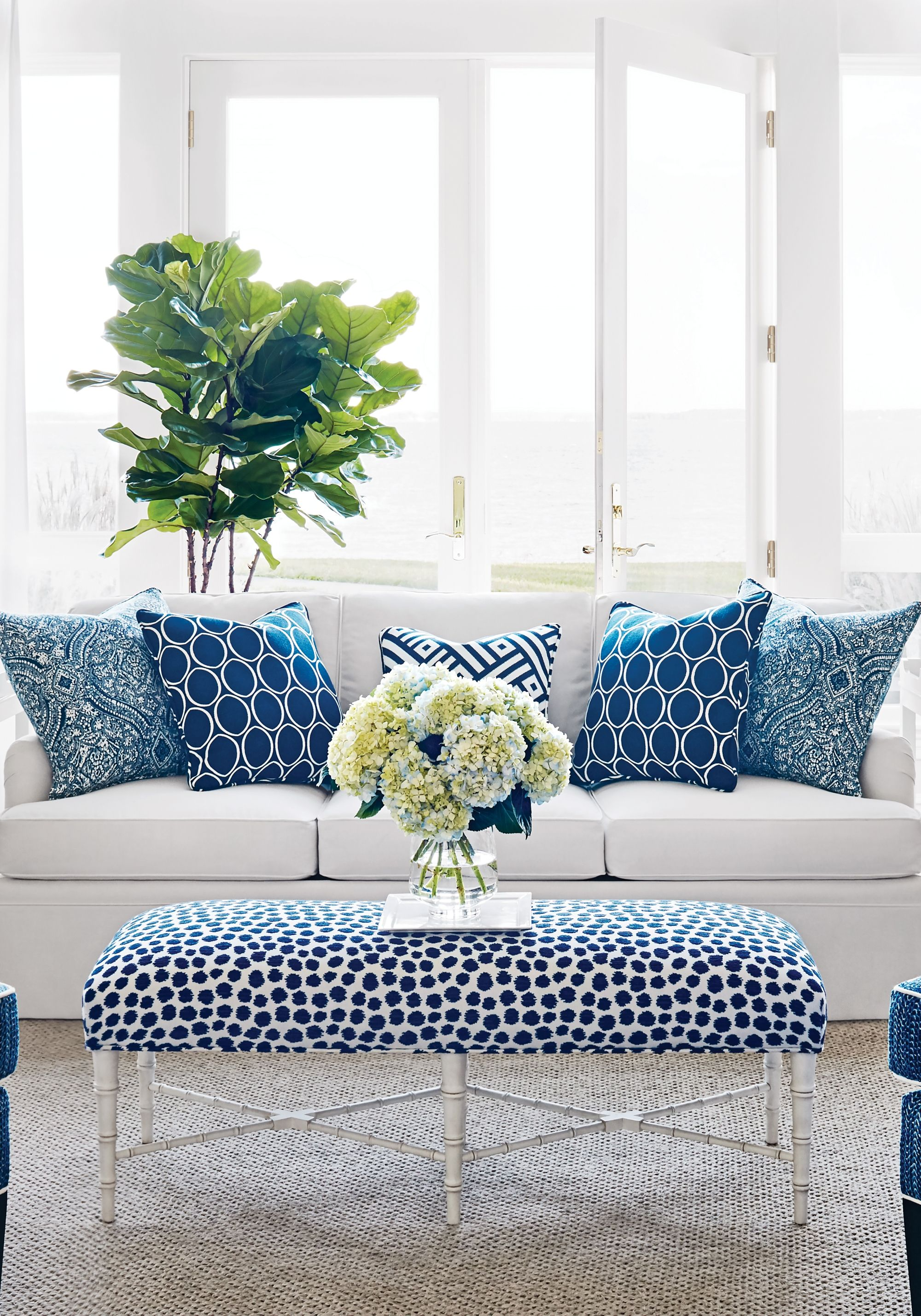 Navy White From Calypso Collection Idees De Decoration