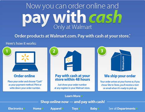 Online & Pay Cash! No Credit Card Needed