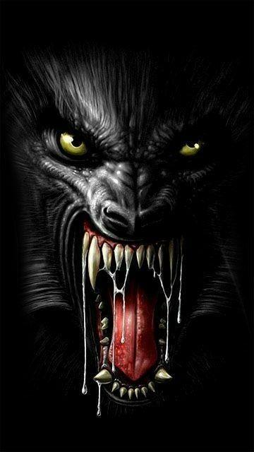 Pin de vladimir ochoa en terror | Arte de lobos, Arte animales peludos