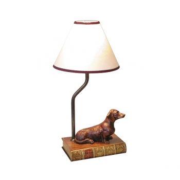 Dackelparadies - Tischlampe