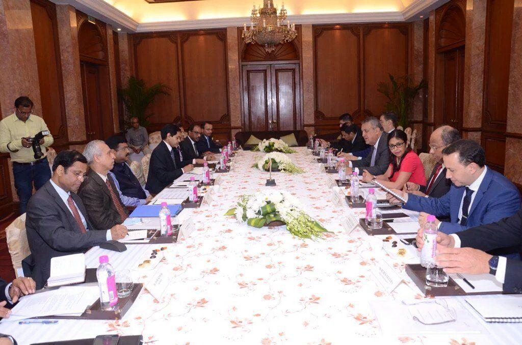 @DrodriguezVen : Junto a Min DelPino nos reunimos en Nueva Dheli con Min Dharmendra Pradhan para expandir coop energética con India https://t.co/Oe4VYXG26a