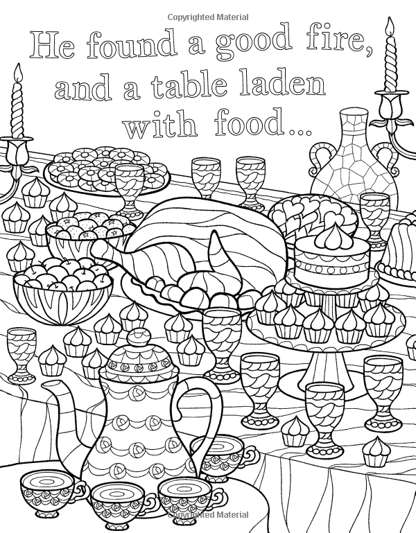 The Beauty and the Beast Colouring Book (Macmillan Classic Colouring ...