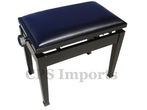 Adjustable Piano Bench Stool with Quick Adjustment in Mahogany