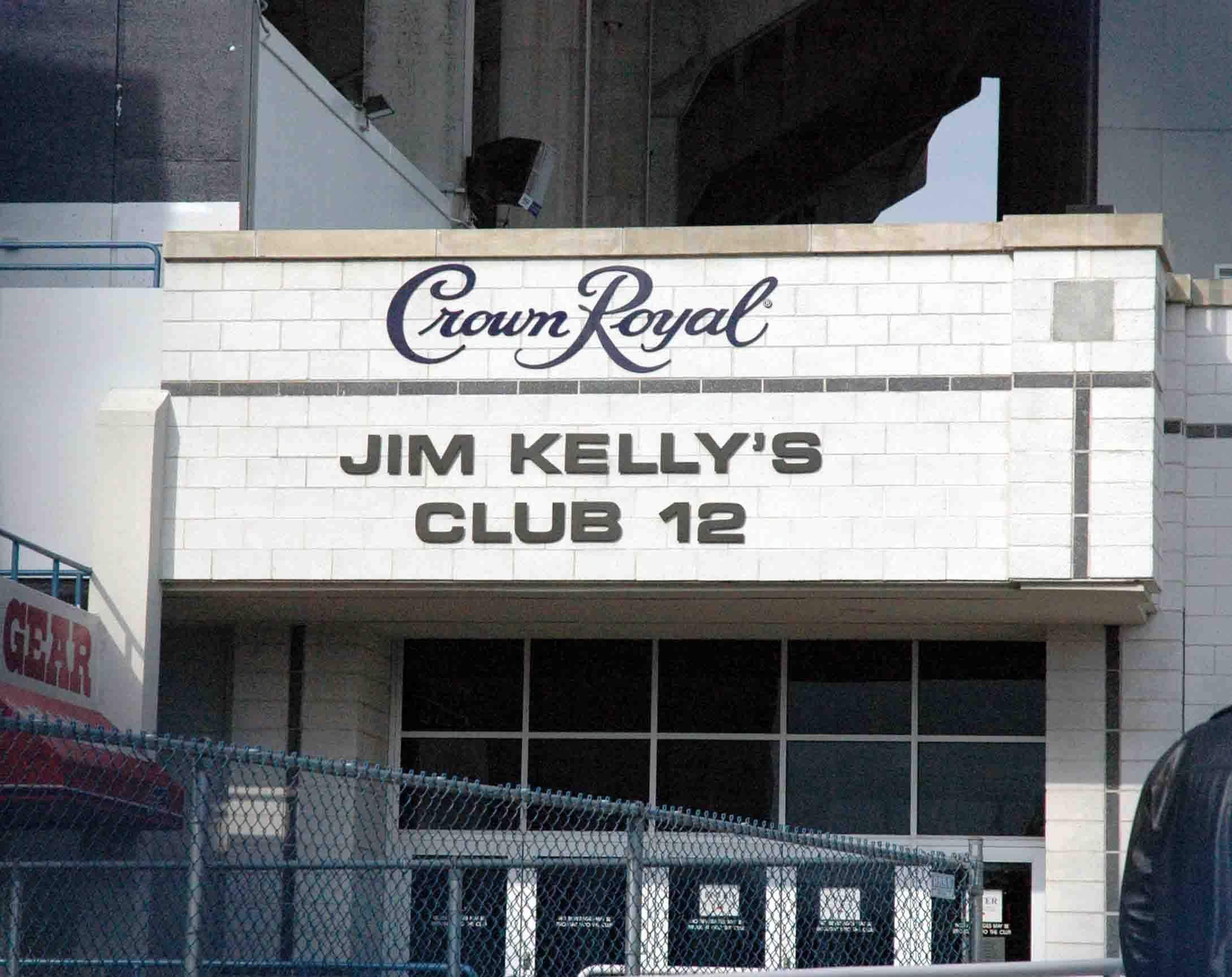 Jim kellys club 12 at ralph wilson stadium jim kelly