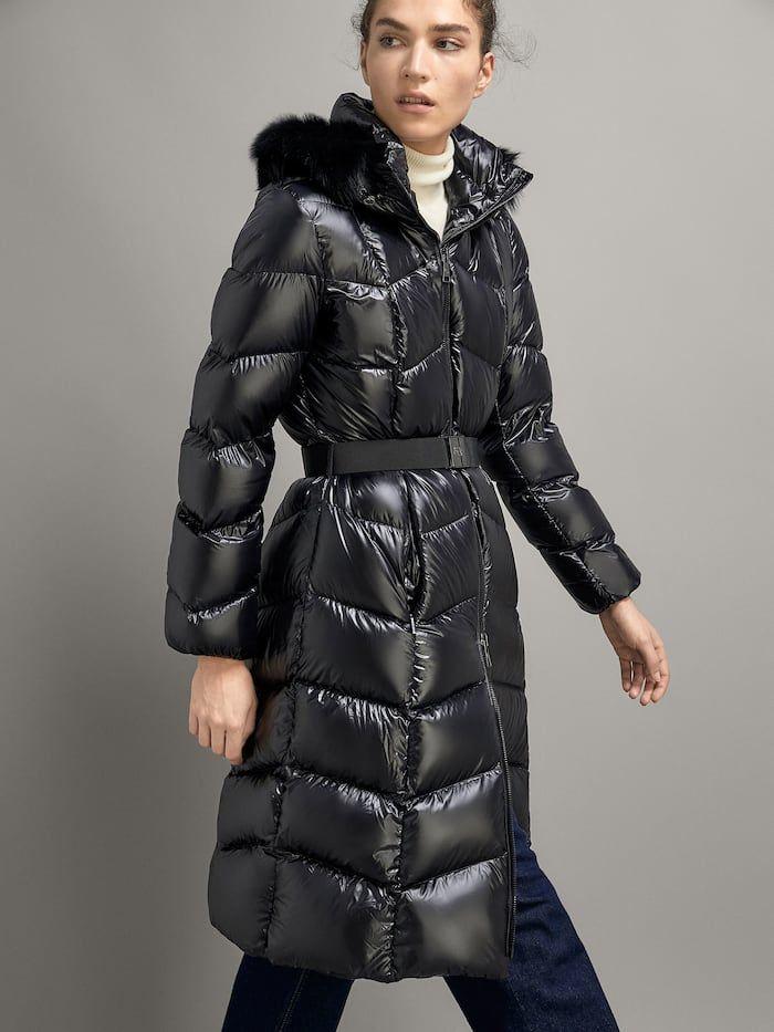 Women S Outerwear Massimo Dutti Autumn Winter 2018 Jackets Down Jacket Outerwear Women