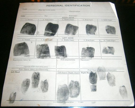 Fbi Fingerprint Form Ibovnathandedecker