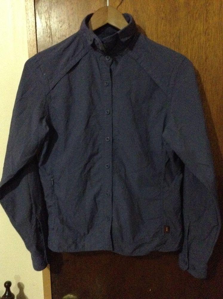 REI Women's Long Sleeve Button Down Purple Zip Pocket Hiking Outdoor Shirt Small #REI #ShirtsTops