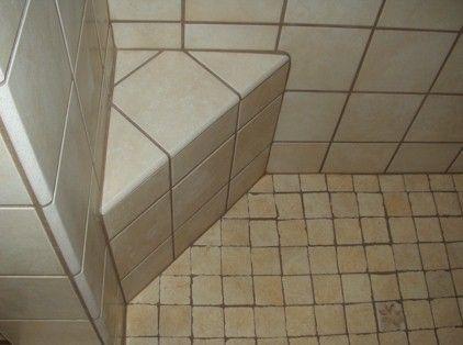 Shower Foot Rest For Shaving. Hmm, I Have Some Extra Shower Tiles!