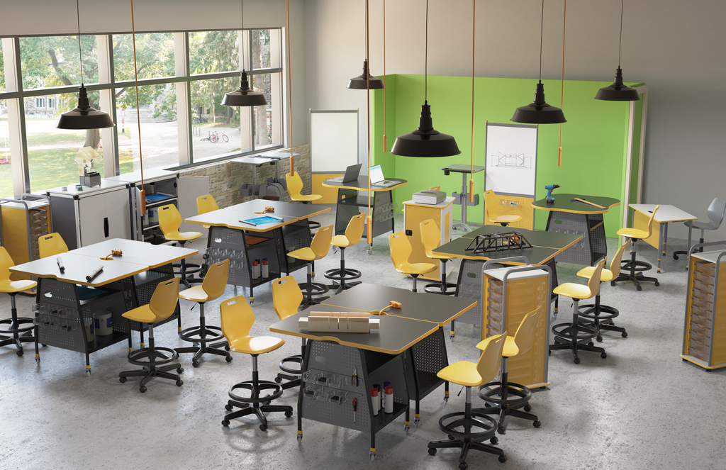 Paragon Maker Invent Tables Makerspace Classroom Furniture