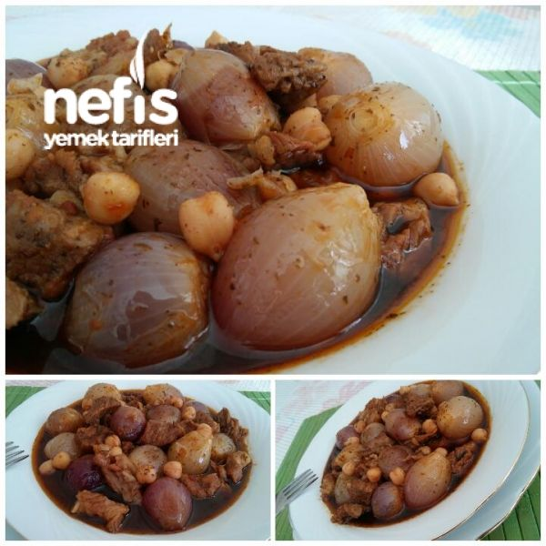 Photo of Yummy Chickpea Onion Stew (Gaziantep Cuisine) – Yummy Eating …