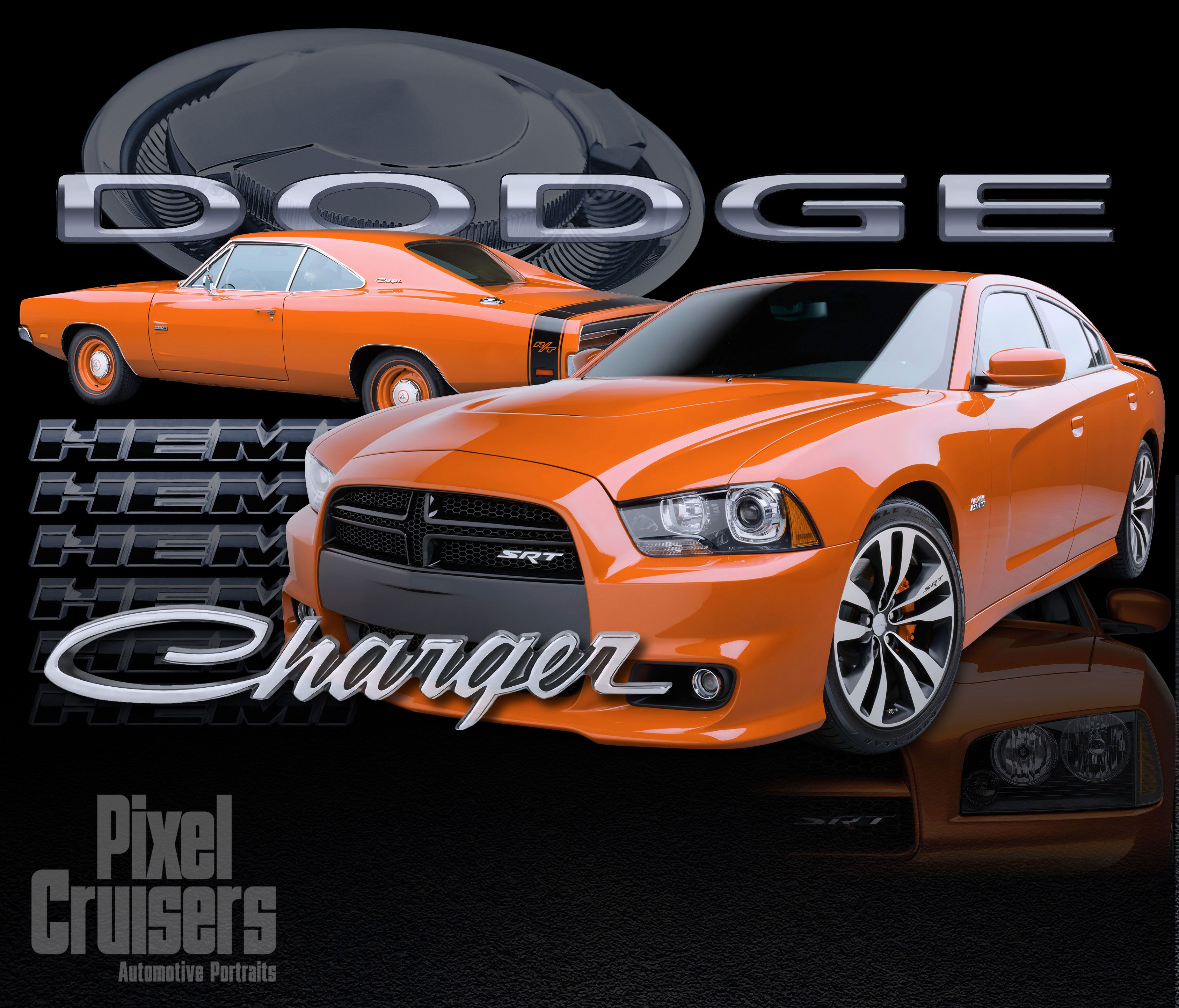 charger past present calendar page from the 2015 o 39 reilly auto parts calendar cars. Black Bedroom Furniture Sets. Home Design Ideas