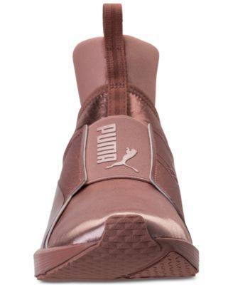 best website 74a08 13629 Puma Women s Fierce Copper Velvet Rope Training Sneakers from Finish Line -  Pink 8.5