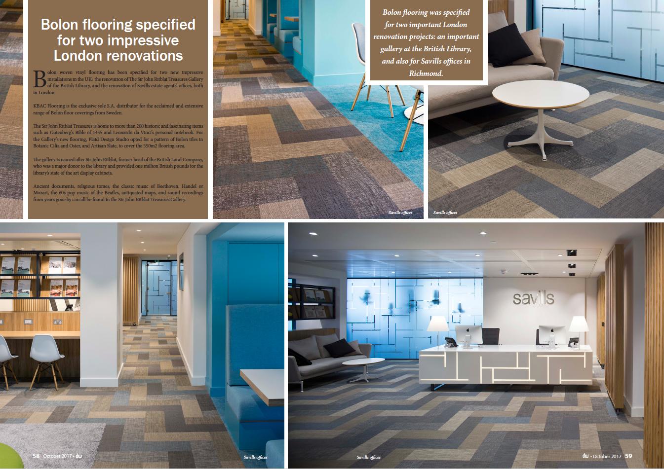 Stunning Bolon Flooring Installation