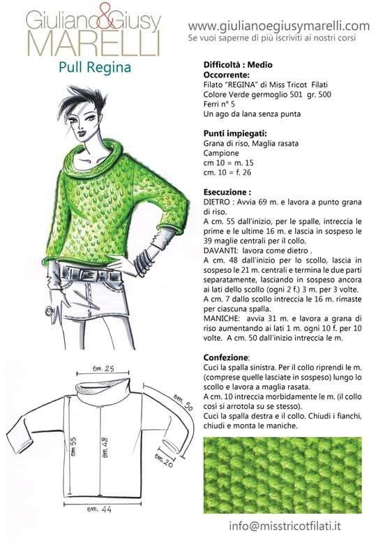 Pin de Colasimone en Progetti Laura | Pinterest | Tejido, Dos agujas ...