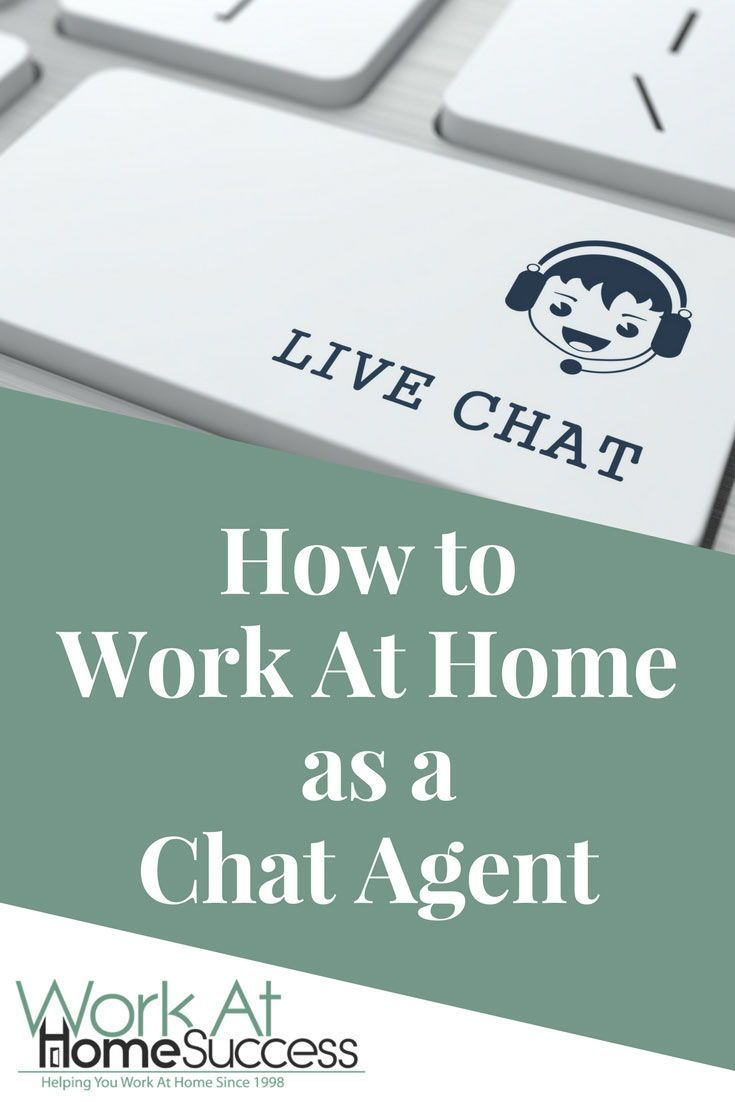 How to work at home as a chat agent lifestyle pinterest work