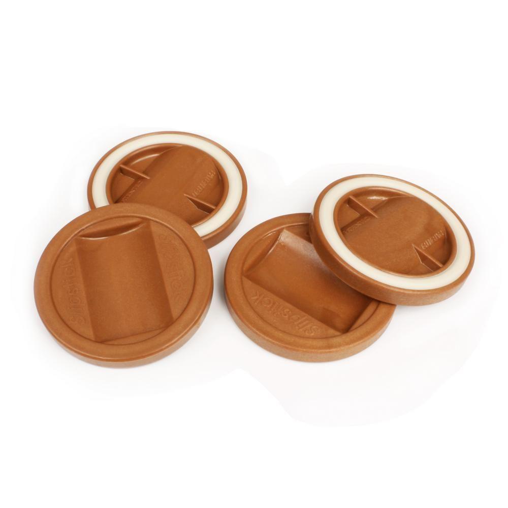 Slipstick 3 1 4 In Caramel Color Bed Roller Furniture Wheel Caster Cup Gripper Set Of 4 Cup Coaster Furniture Risers Caramel Color