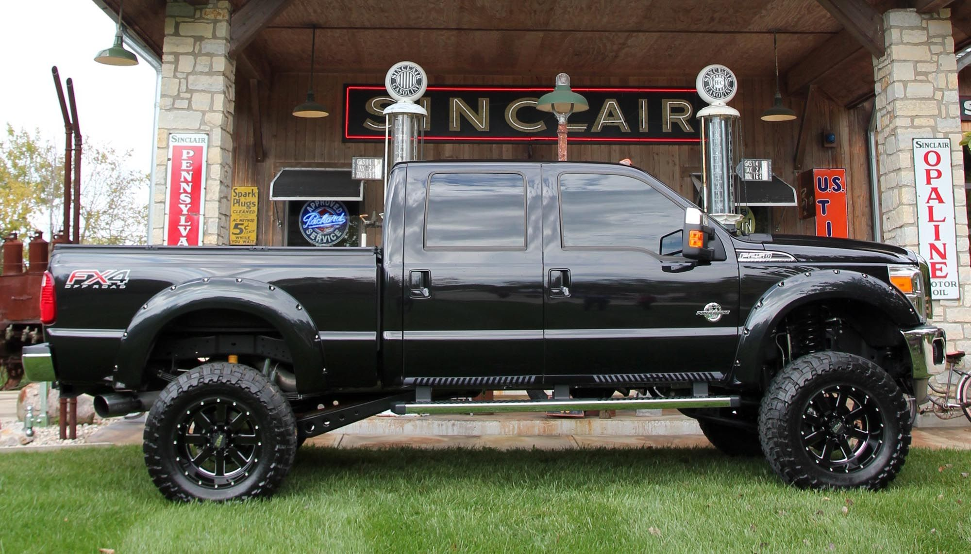 Ford F250 Bengal Truck With Images Jacked Up Trucks Trucks