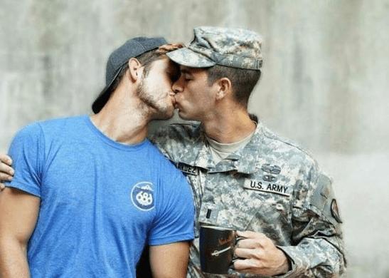 Gay military men