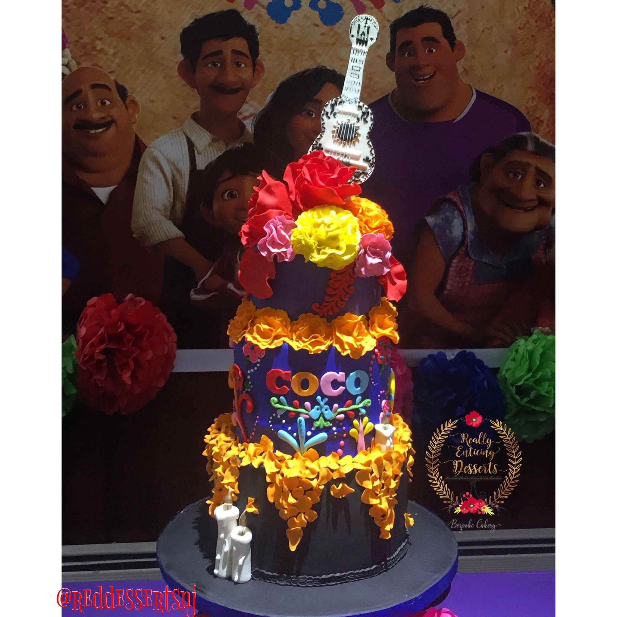 Pixar S Coco Birthday Cake