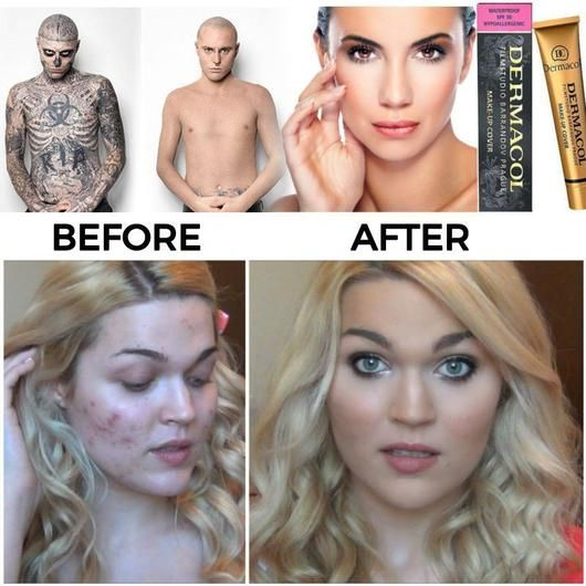 Dermacol Make-Up Cover Contains and fixes all skin problems ...