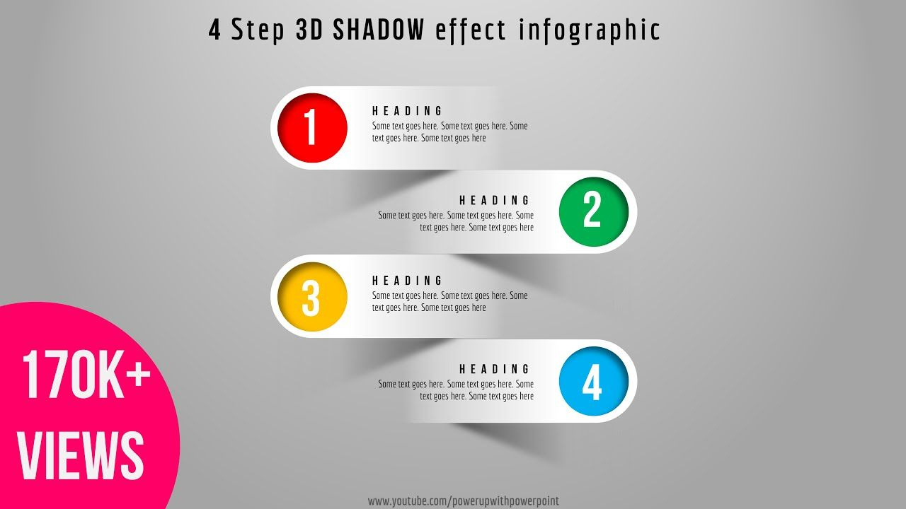 41 Create 4 Step 3d Shadow Effect Infographic Powerpoint Presentation Graphic Des Infographic Powerpoint Powerpoint Presentation Design Powerpoint Presentation