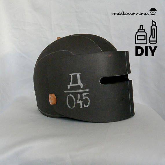 digital item  pdf file   this is an eva foam template for a alexsandr tachanka senavievs helmet
