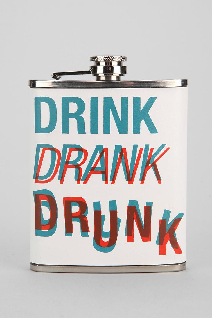 3D Flask #urbanoutfitters