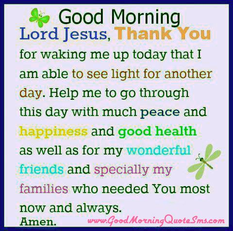 Jesus Christ Good Morning Quotes Early Morning Wisdom Blessings