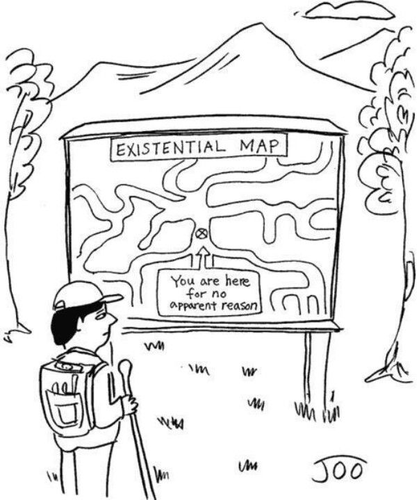 This Cartoon About Existentialism Explains How An Individual Who