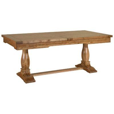 Kelburn Furniture Toulouse Large Twin Pedestal Solid Oak
