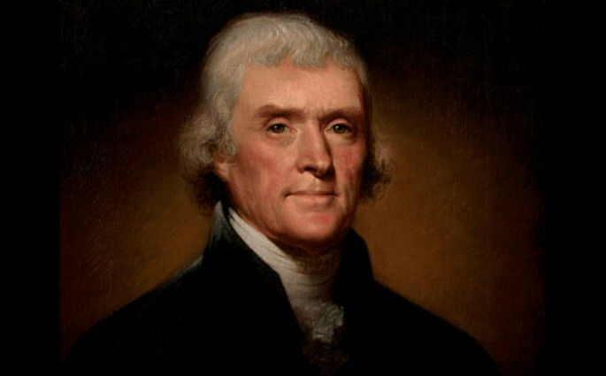 24.)  IQ: 153.8  Thomas Jefferson The White House dinner for Nobel Laureates the most extraordinary collection of talent gathered at the White House. Jefferson studies everything from agricultural innovation to architecture.