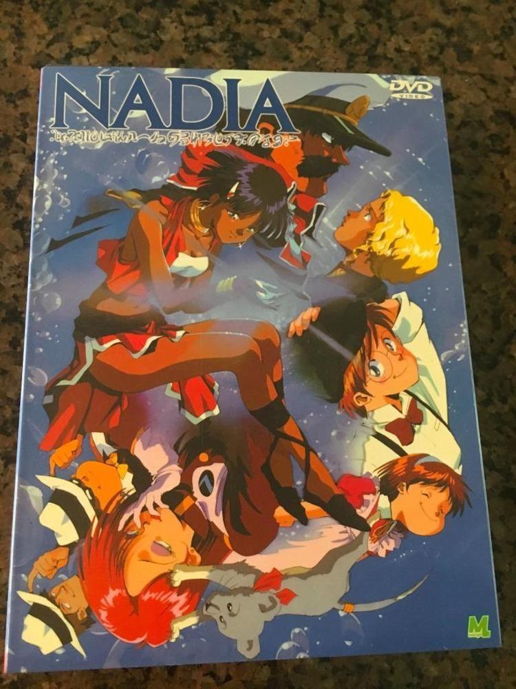 Anime japanese nadia 4 dvd set english/chinese