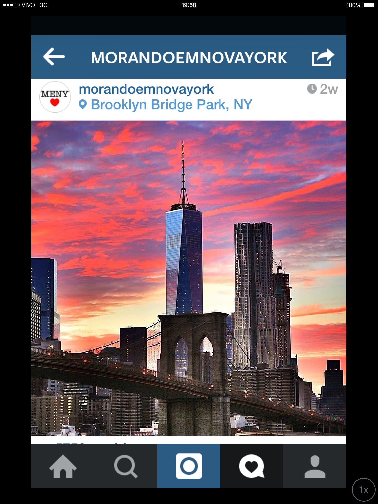 Quem ama New Yorksiga este IG, tem belas fotos!!!!