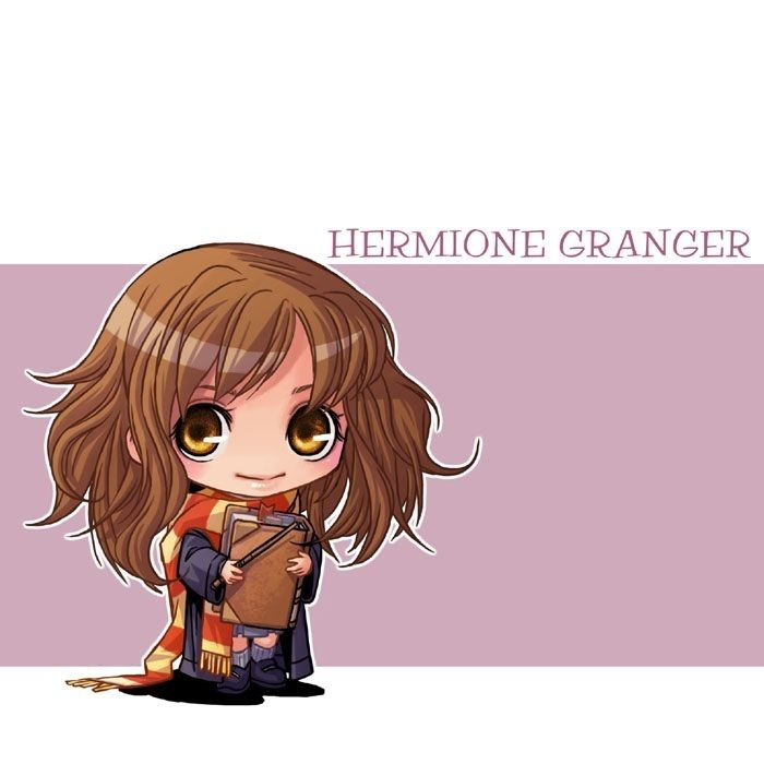 Chibi Harry Potter Characters Harry Potter Anime Harry Potter