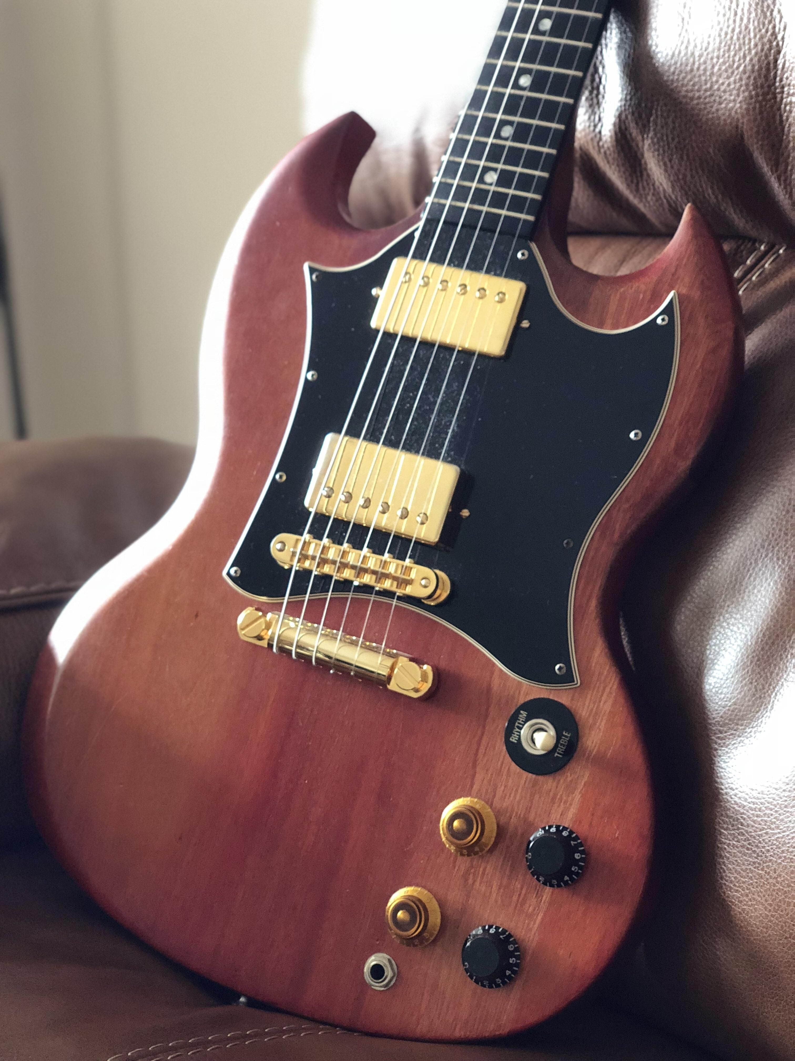 My pride and joy  2004 Gibson SG special faded  13 years