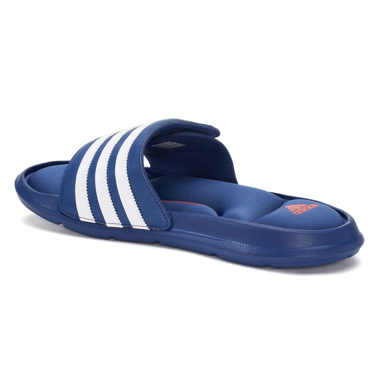 Adidas Blue Superstar 3g Slide Sandal (men's) for men